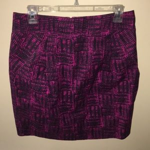 Marc by Marc Jacobs pink and black skirt
